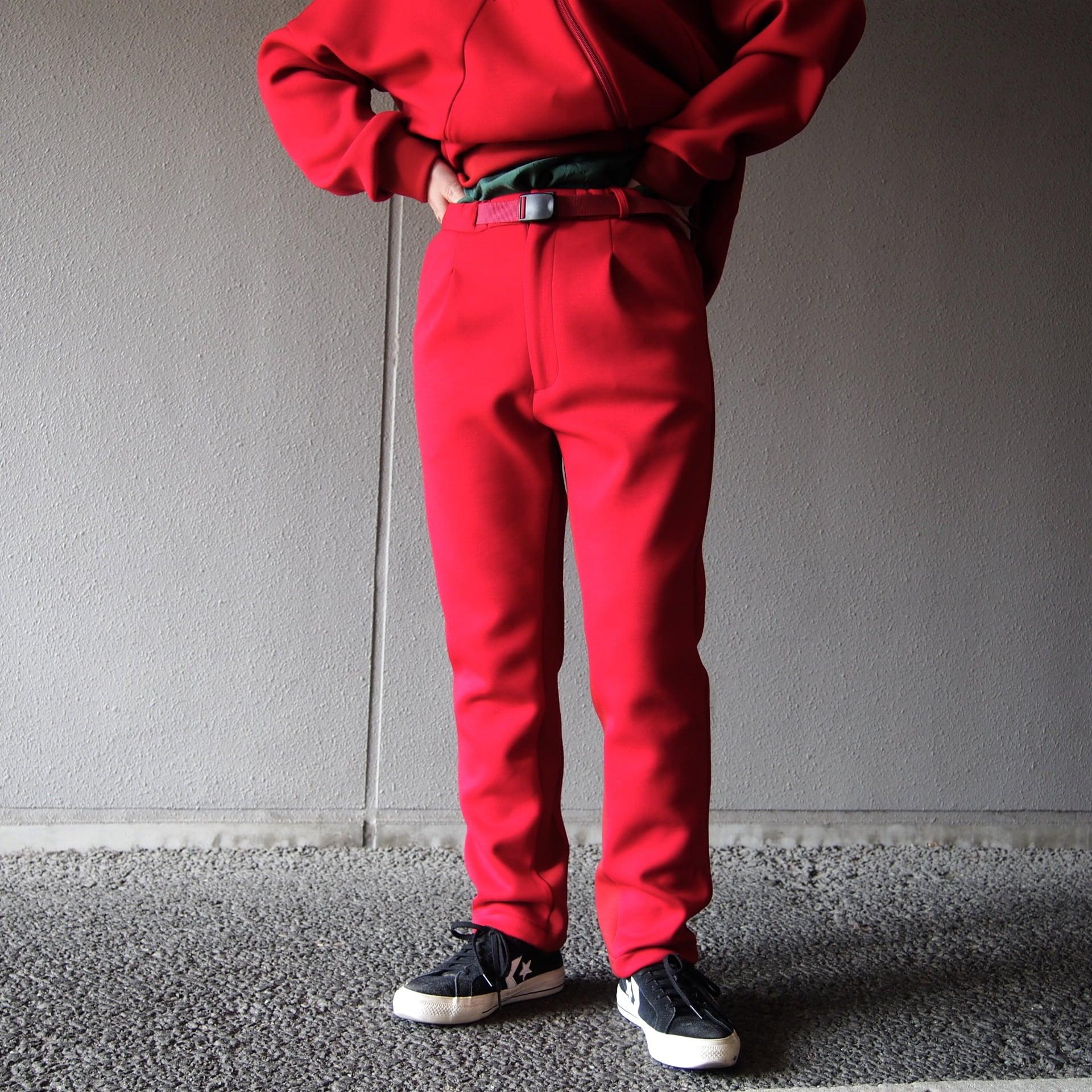 【hippiness】slack pants (red)/【ヒッピネス】スラックパンツ(レッド)