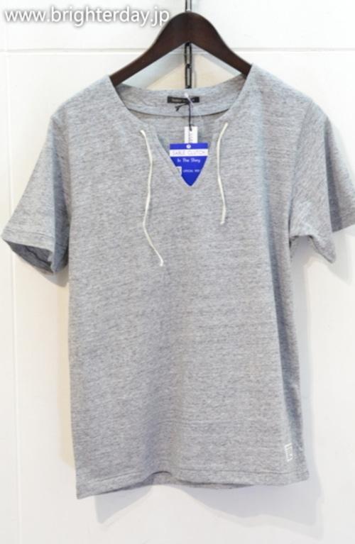 SABEL CLUTCH キーネックTシャツ