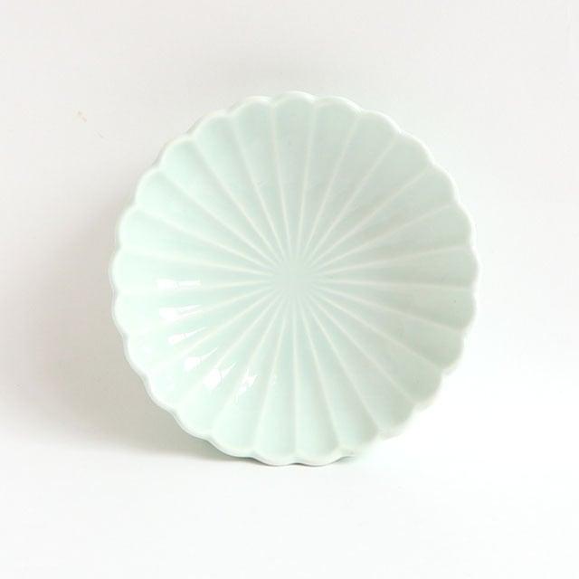 菊型丸皿(11.5cm) 可愛いカタチの小皿 ノアアクア【2054-6220】