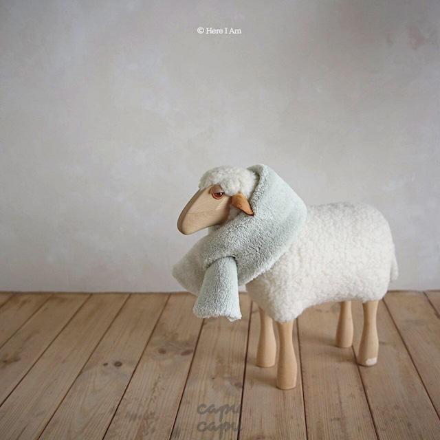«予約»«キッズサイズ»«Here I am» kinder fleece キンダーフリース マフラー
