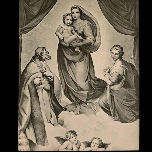 システィーナの聖母(ラファエロ)