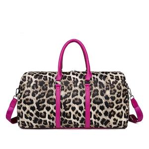 ヒョウ柄 レオパード 大容量バッグ レザーバッグ 革鞄 トートバッグ ファッション感 たっぷりバッグ レディースハンドバッグ 旅行鞄 肩掛けバッグ カジュアルショルダーバッグ PUレザー 5803