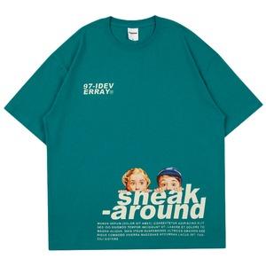 『NOS Luxury』チルドレンプリントTシャツ