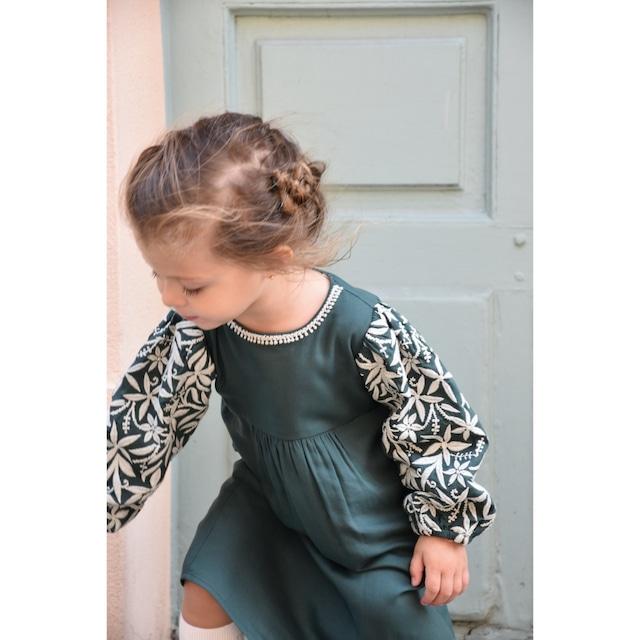 Laya Embroidered Dress by Bachaa