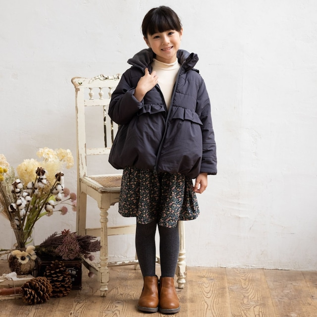 Little s.t. by s.t.closet ナイロンコート