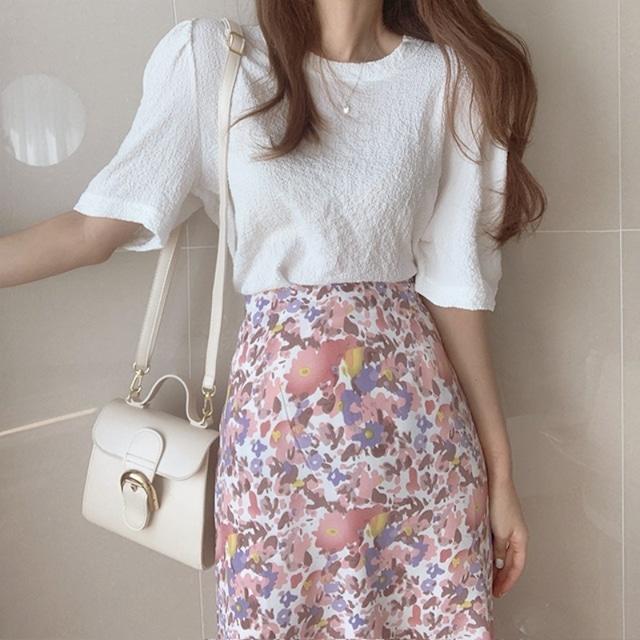 バラ売り セットアップ   トップス+スカート SHT430901