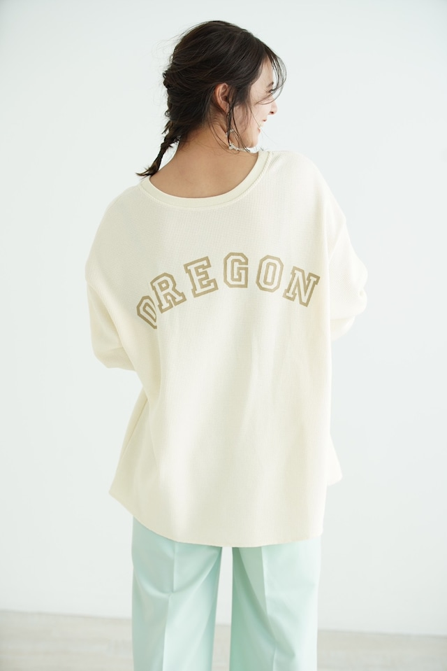 【NANAMI様着用】2way oregon waffle tp