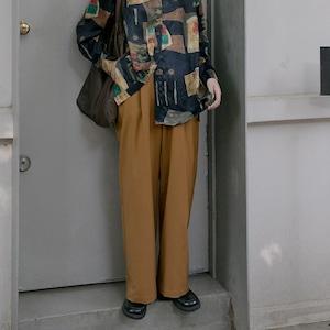 Straight wide casual pants(ストレートワイドカジュアルパンツ)a-808
