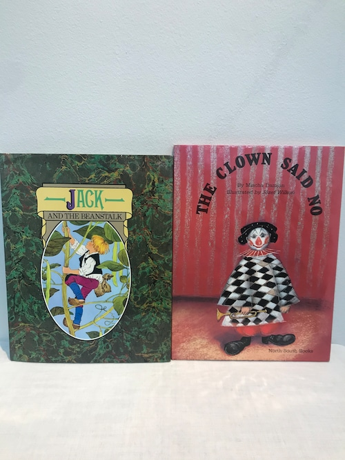 80' 洋書絵本 2冊 JACK .CLOWN