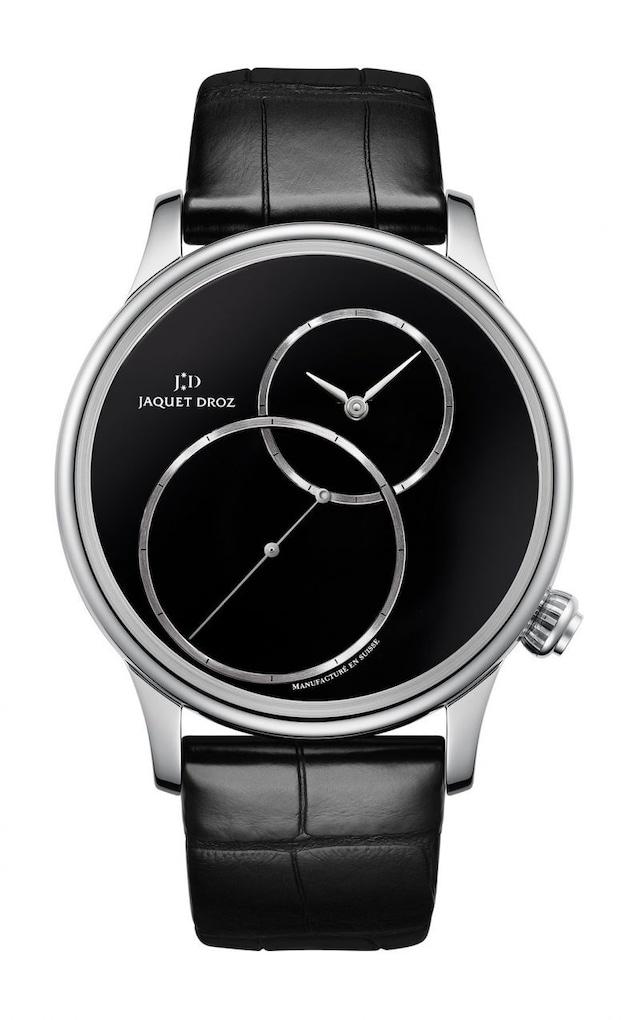 【JAQUET DROZ ジャケ・ドロー】GRANDE SECONDE OFF-CENTERED ONYX グラン・セコンド オフセンター オニキス/国内正規品 腕時計