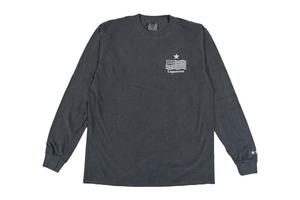 """【""""USA"""" vintage long sleeve】/ black"""