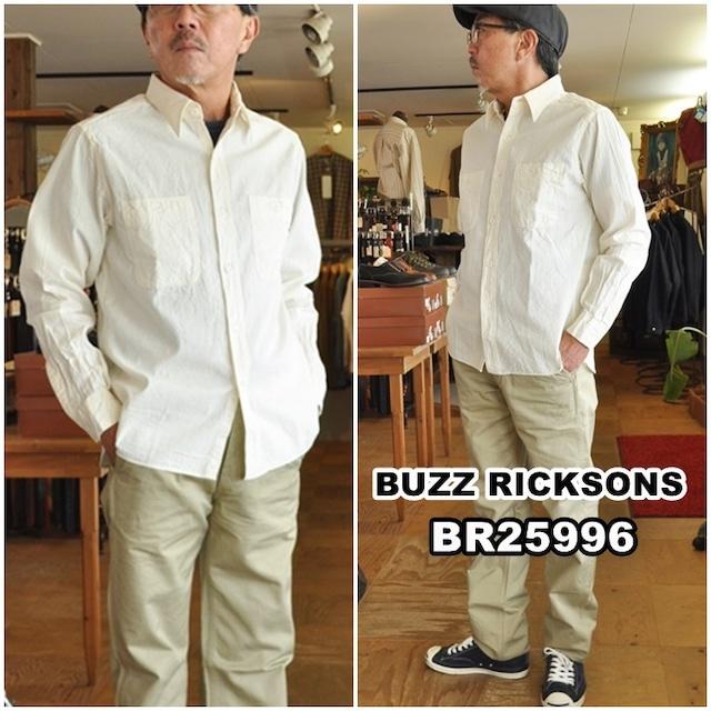BUZZ RICKSON'S バズリクソンズ  ホワイトシャンブレー  25996 ワークシャツ メンズ 長袖シャツ 東洋エンタープライズ
