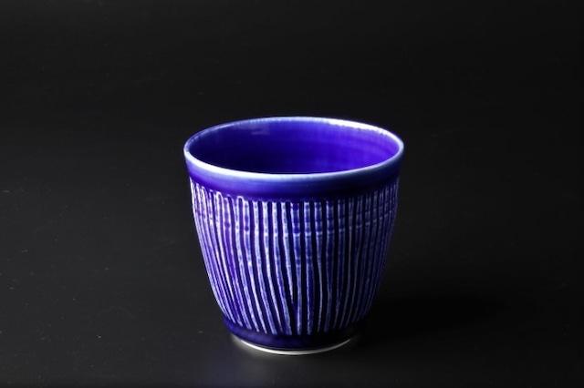 しのぎフリーカップ(瑠璃) 波佐見焼