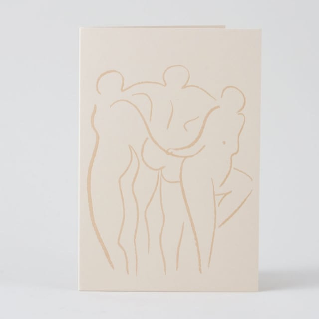 WRAP / Trio  ART CARD - Illustrated by Alexandria Coe-