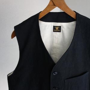 da classic vest / black