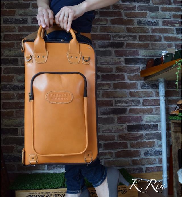 【オーダーメイド制作例】ドラムスティック用バッグ (KA024a1)