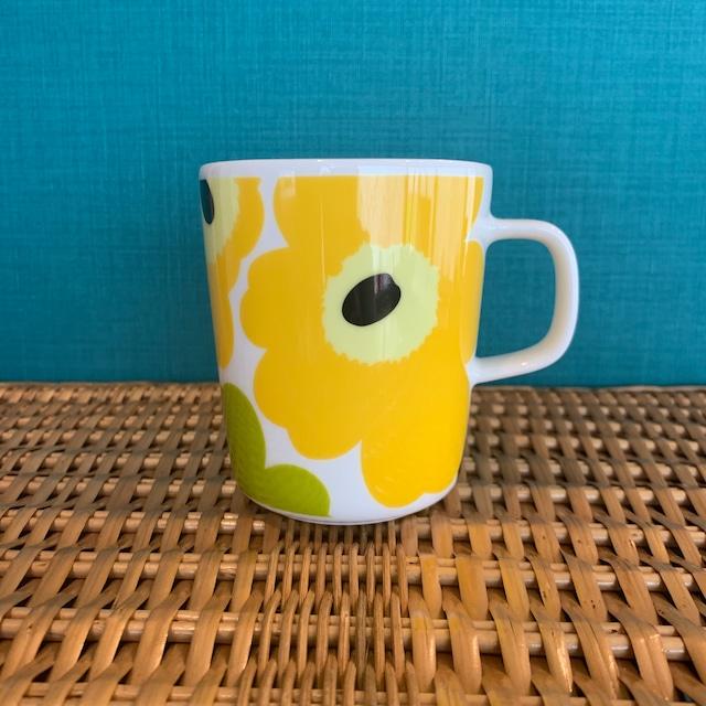 marimekko Unikko マグカップ WHITE/LIME