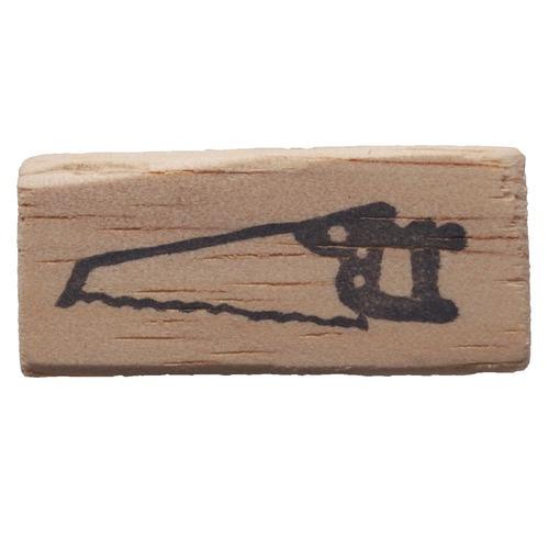 消しゴムはんこ/工具シリーズ・のこぎり(2) (1-54)