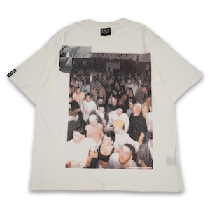 T.C.R THE LAST PARTY S/S TEE - OFFWHITE
