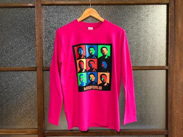 "MARUFORLIA T.Y - BIRTHDAY L/S TEE ""マグフォリア公認ブートTシャツ""  (BINGO'S TROPICAL PINK)"