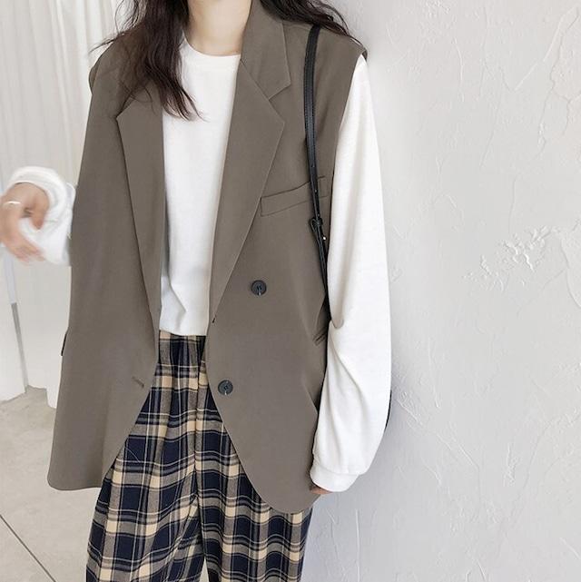 Vest jacket KRE1008