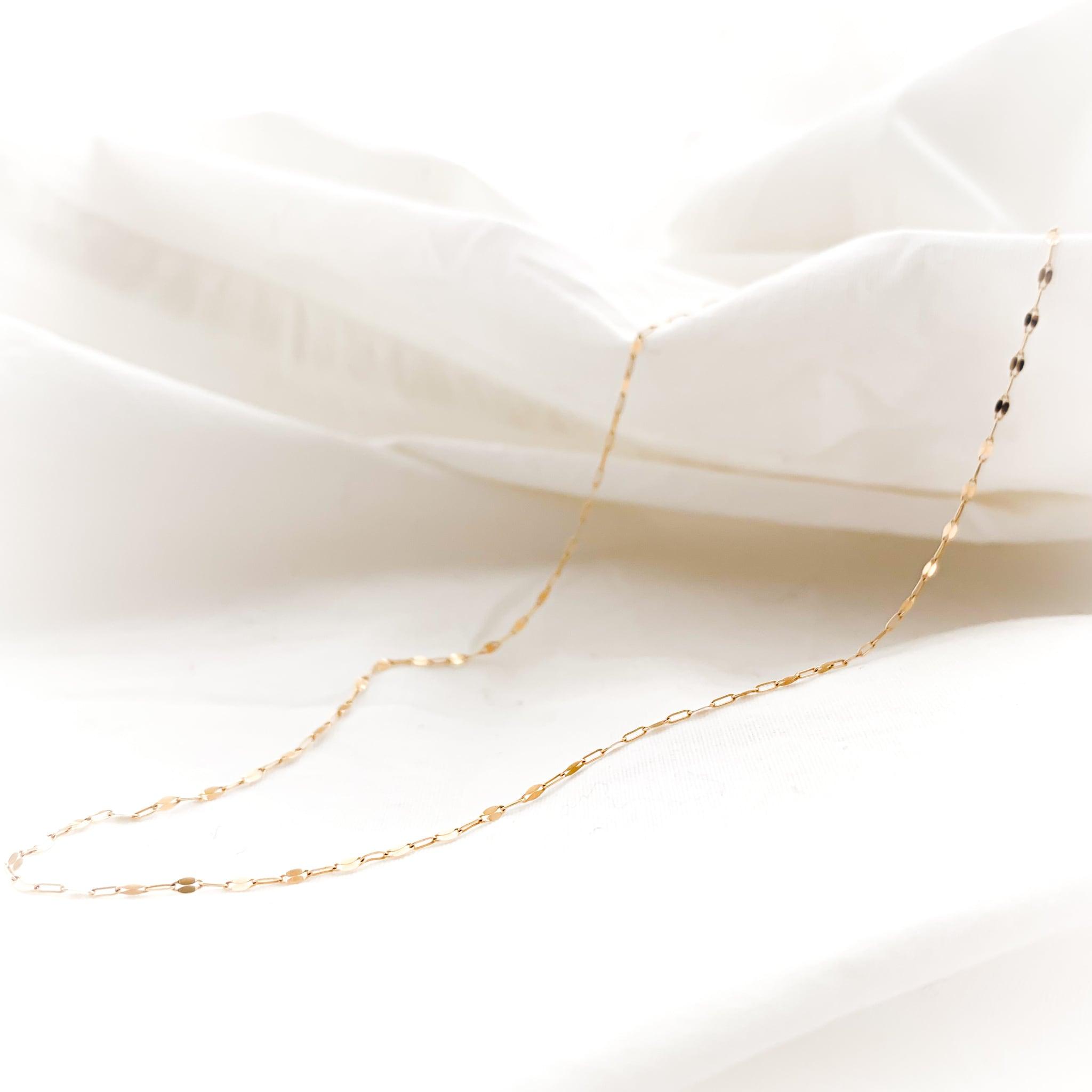 K10 Design Cut Chain Necklace