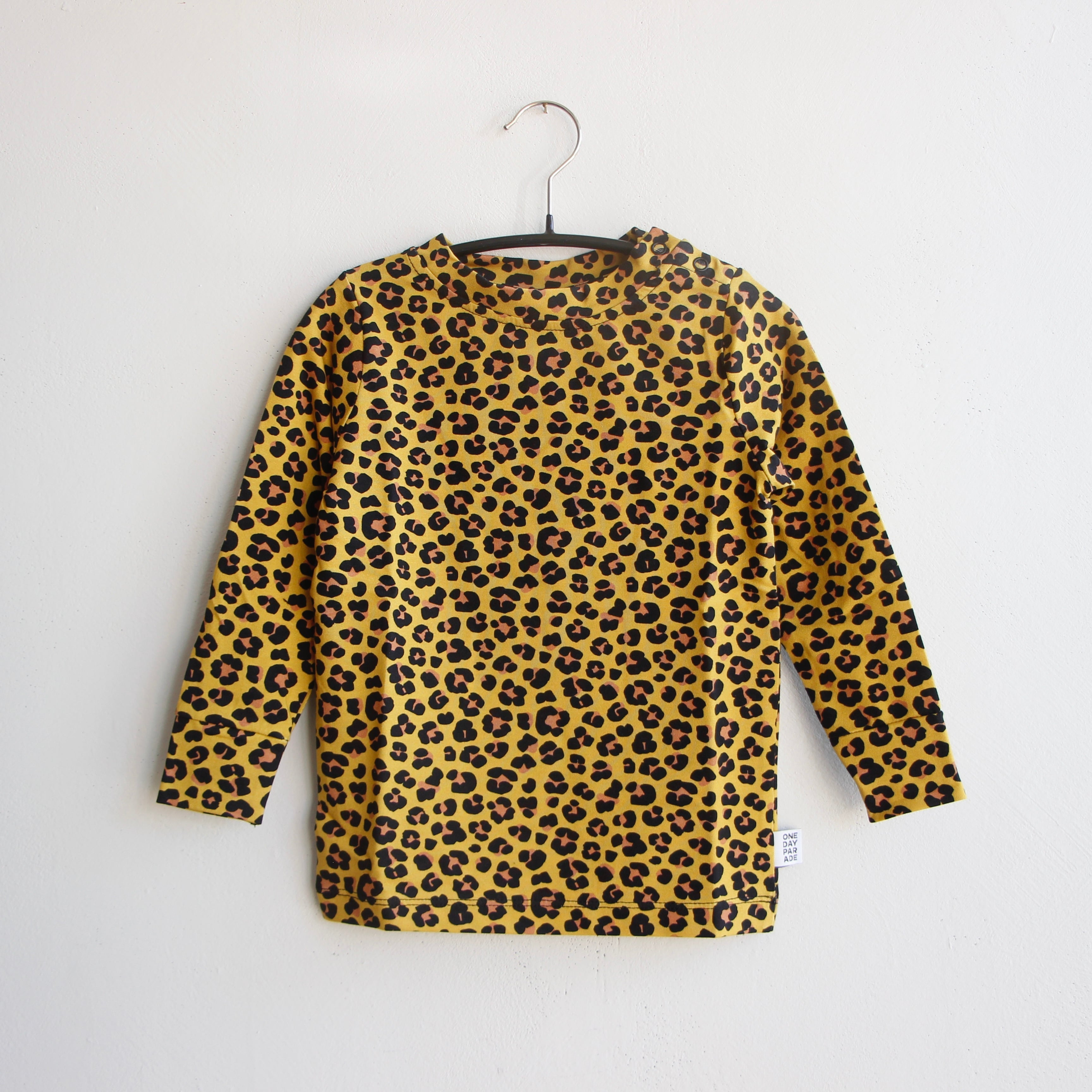《ONE DAY PARADE 2021AW》LONGSLEEVE / LEOPARD