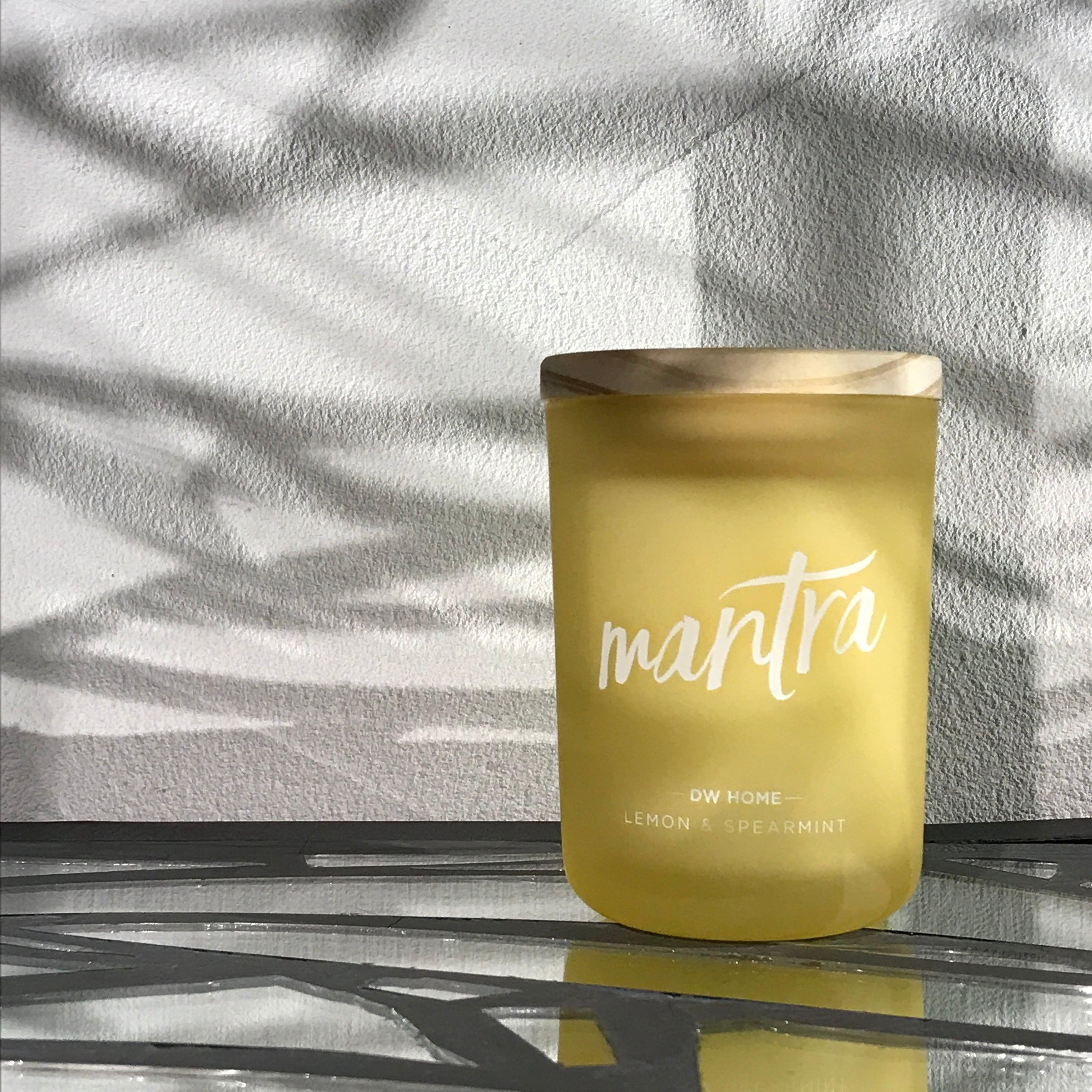 【DW Home Candles】mantra (LEMON & SPEARMINT)