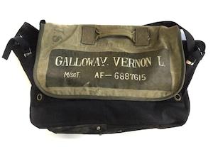 Vintage Messenger Bag  military 【messenger01】