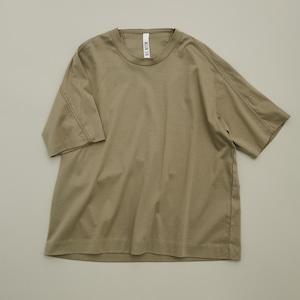 MOUN TEN. organic cotton T(khaki) 110/125/140 [21S-MT61-0938a] MOUNTEN.※1点までメール便OK