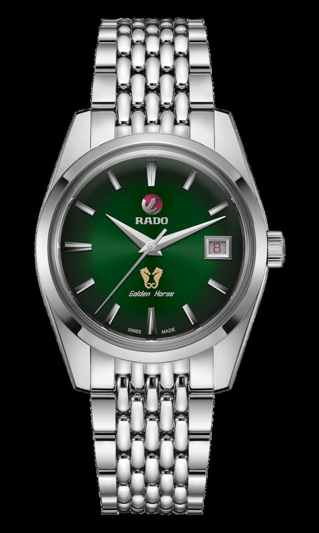 【RADO ラドー】復刻限定品/Golden Horse Automatic ゴールデンホース(グリーン)1957本限定/国内正規品 腕時計