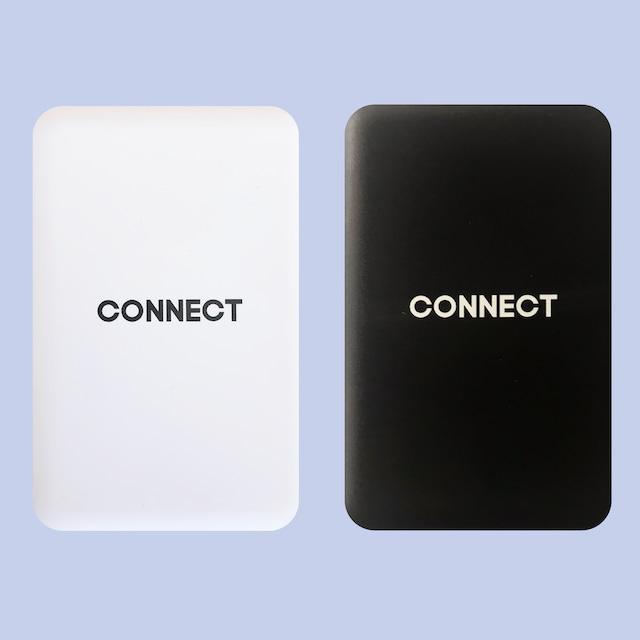 コンパクトモバイルバッテリー 5000mA(ホワイト / ブラック)
