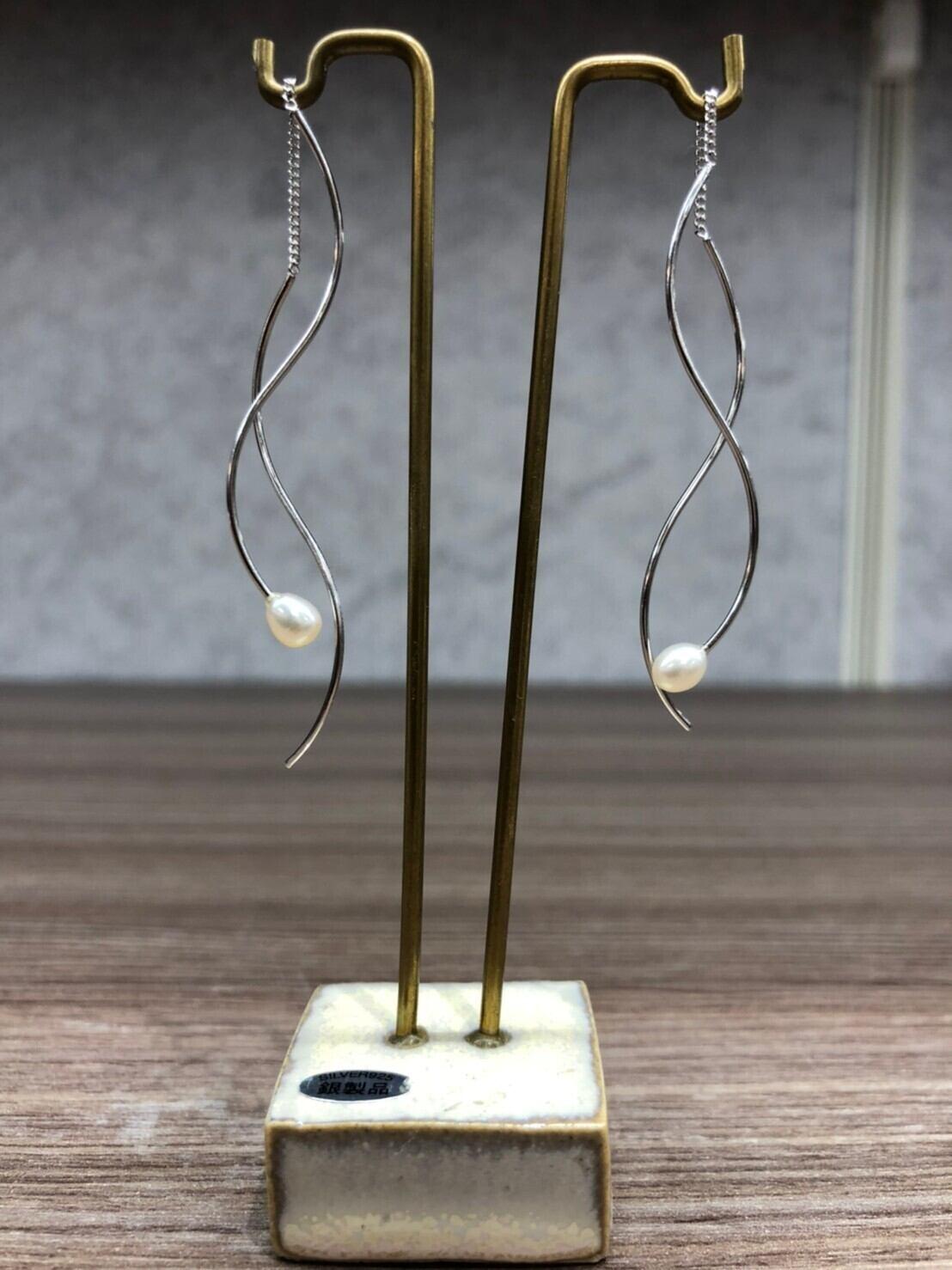 【JEENAR】天然石ピアス (PRT-170)