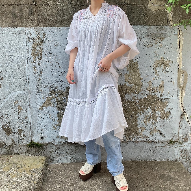 handmade vintage cotton dress