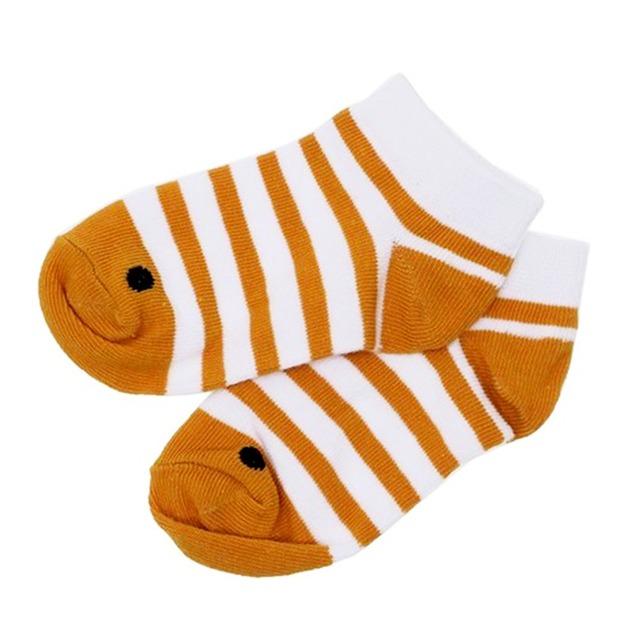 《魚/アナゴ》靴下 子供用 ニシキアナゴ キッズソックス アクアフレンズ