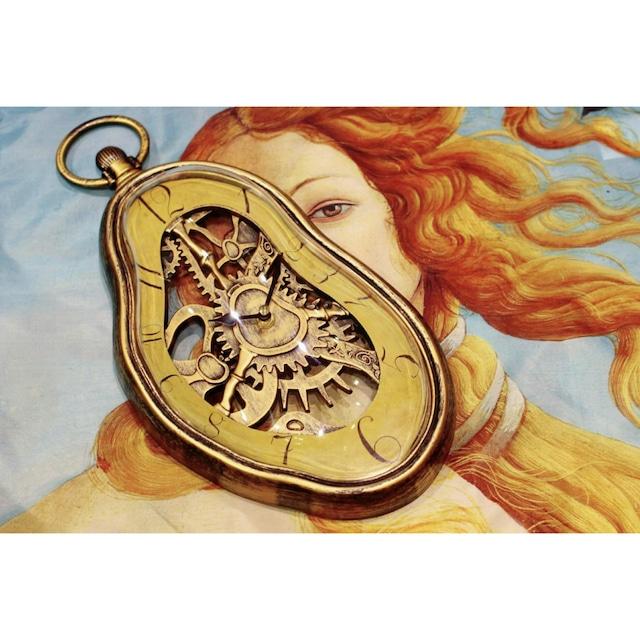 ダリ掛時計【シュルレアリスム時計】記憶の固執:浜松雑貨屋 C0pernicus