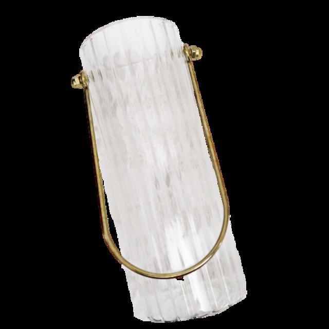 Gold handle flower vase / ゴールドハンドル フラワーベース M