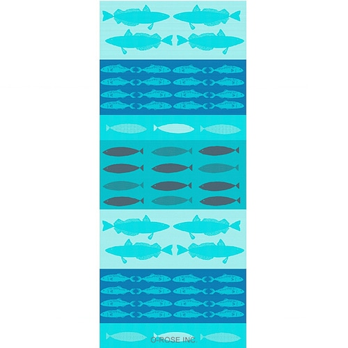 ミニランナー ポワソン(魚) 【サイズ約50x120cm】