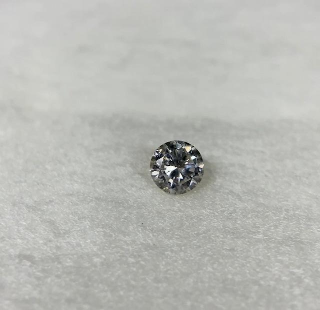 ダイヤモンド 0.207ct 蛍光:Faint 簡易ソーティング付き No:19W-4024