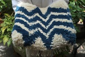 ◆【ノッティング・手織りの椅子敷き】(大) ◆NEW!   #20210605