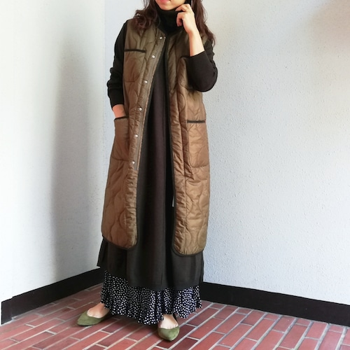UNIVERSAL OVERALL(QUILT LONG VEST)