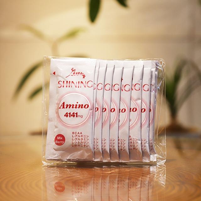 内側からキレイになるシャイニング アミノ4141mg(10包)