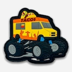 【 TacoVinyl 】 Monster Taco Truck  Patch