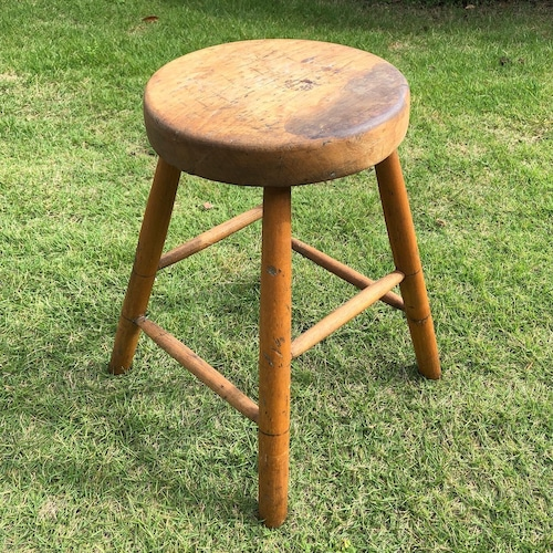 アメリカ製 古い丸椅子