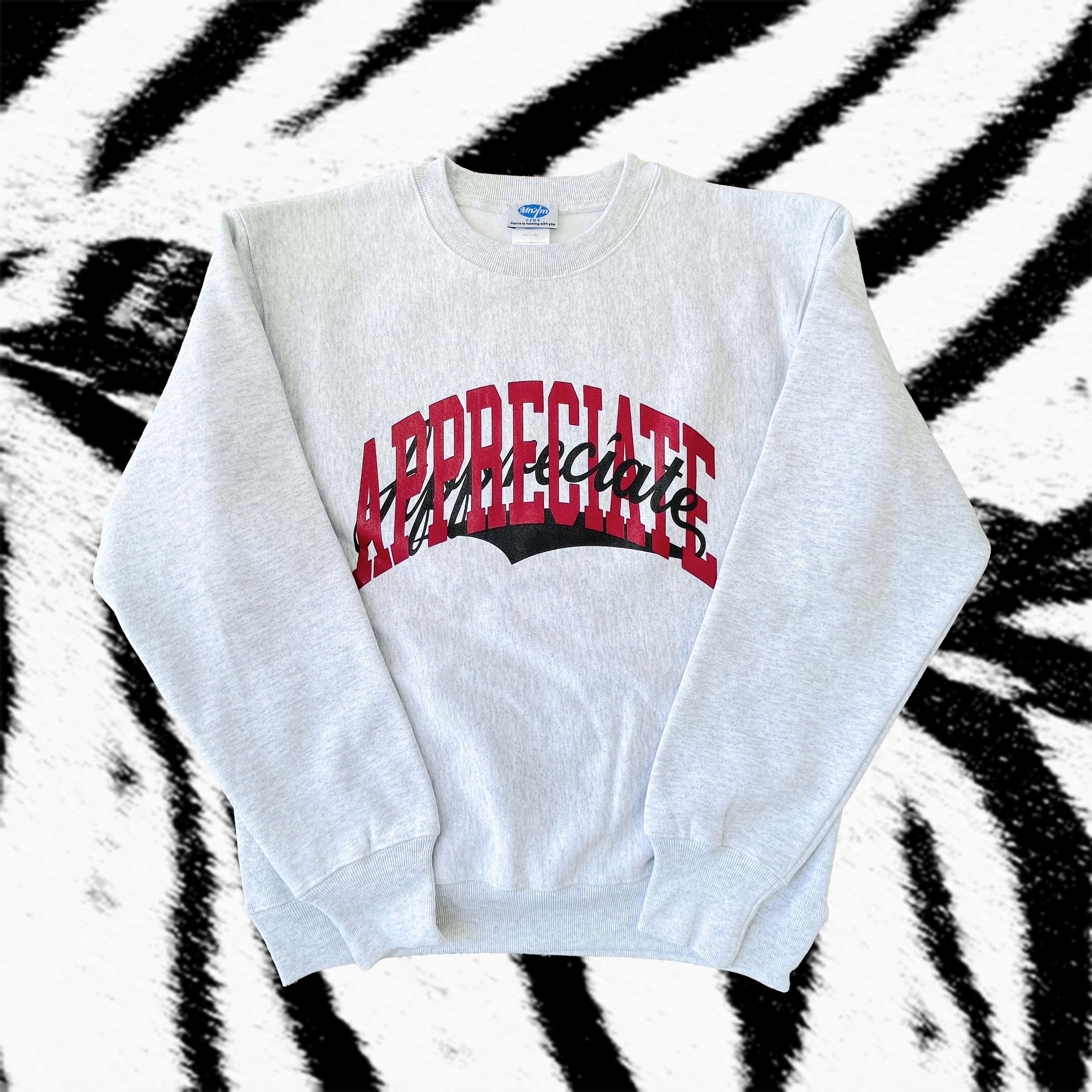 【UNISEX】APPRECIATE Sweatshirt 12.0 oz