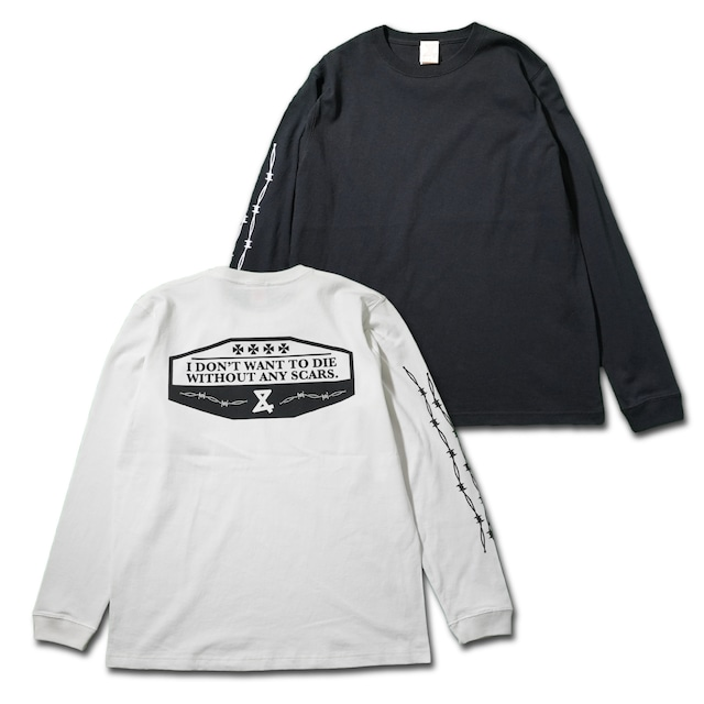 Barbed wire  Long Tshirts