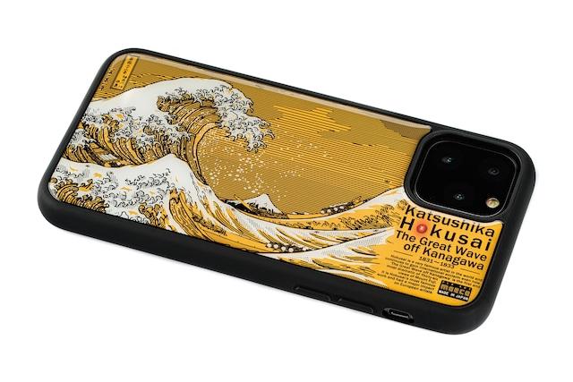 FLASH 神奈川沖浪裏 基板アート iPhone 11 Proケース【東京回路線図A5クリアファイルをプレゼント】