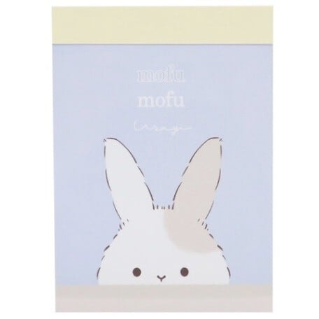 ミニミニメモ帳 モフモフウサギ