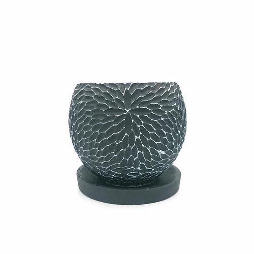 raraiuvant 陶器鉢 ブラック SMサイズ