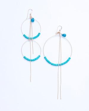 Lourmarin/blue chalcedony w turquoise